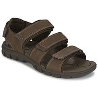 Sapatos Homem Sandálias Caterpillar ENTRANT Castanho