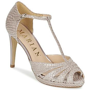 Sapatos Mulher Sandálias Marian CHANVRO Bege
