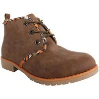 Sapatos Mulher Botins MTNG 52954 Marrón