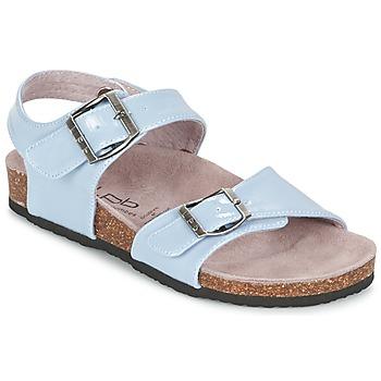 Sapatos Rapariga Sandálias Les P'tites Bombes J ROSE Azul