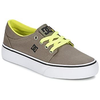 Sapatos Rapaz Sapatilhas DC Shoes TRASE TX Toupeira