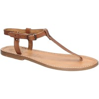 Sapatos Mulher Sandálias Gianluca - L'artigiano Del Cuoio 532 D CUOIO CUOIO Cuoio