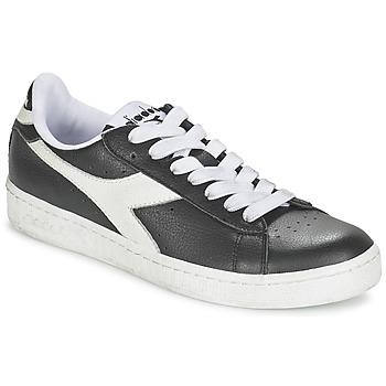 Sapatos Sapatilhas Diadora GAME L LOW Preto / Branco