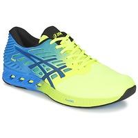 Sapatos Homem Sapatilhas de corrida Asics FUZEX Azul / Amarelo