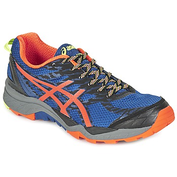 Sapatos Homem Sapatilhas de corrida Asics GEL-FujiTrabuco 5 Azul