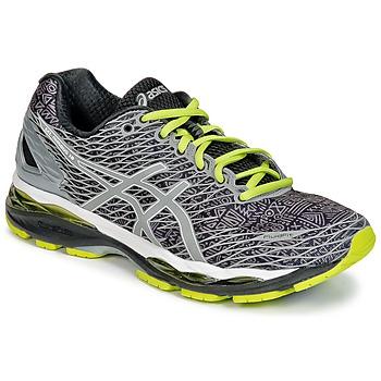 Sapatos Homem Sapatilhas de corrida Asics GEL-NIMBUS 18 LITE-SHOW Cinza