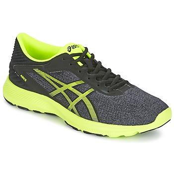 Sapatos Homem Sapatilhas de corrida Asics NITROFUZE Cinza / Amarelo
