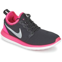 Sapatos Rapariga Sapatilhas Nike ROSHE TWO JUNIOR Preto / Rosa