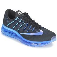 Sapatos Homem Sapatilhas de corrida Nike AIR MAX 2016 Preto / Azul