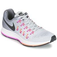 Sapatos Mulher Sapatilhas de corrida Nike AIR ZOOM PEGASUS 33 W Cinza / Rosa