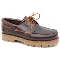 Sapatos Homem Sapato de vela CallagHan mod.21910 Marrón Marrón