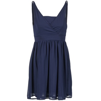 Textil Mulher Vestidos curtos Betty London ESQUIVI Marinho