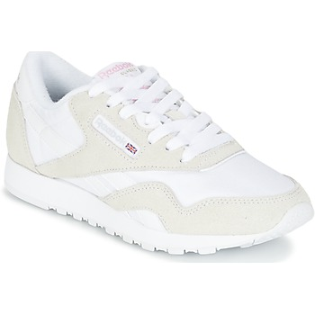 Sapatos Mulher Sapatilhas Reebok Classic CLASSIC NYLON Bege / Branco