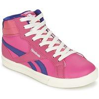 Sapatos Rapariga Sapatilhas de cano-alto Reebok Classic REEBOK ROYAL COMP 2 Rosa