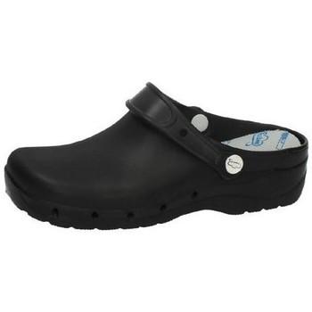 Sapatos Homem Tamancos Feliz Caminar  Preto