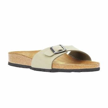 Sapatos Mulher Chinelos Birkenstock MADRID Cáqui