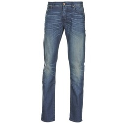 Textil Homem Calças de ganga slim 7 for all Mankind RONNIE ELECTRIC MIND Azul