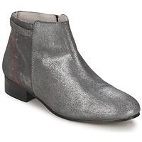 Sapatos Mulher Botas baixas Alba Moda FLONI Prata
