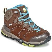 Sapatos Criança Sapatos de caminhada Tecnica CYCLONE III MID TCY JUNIOR Castanho / Azul