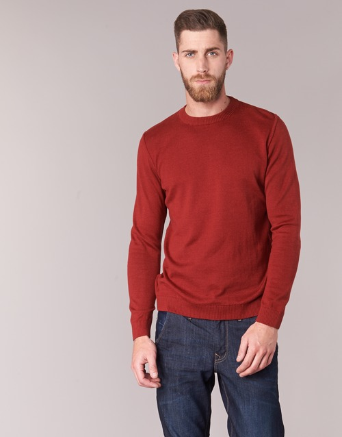 Textil Homem camisolas BOTD ELABASE ROUND Vermelho