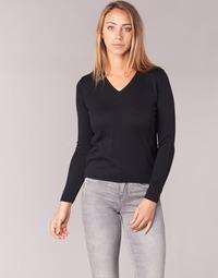 Textil Mulher camisolas BOTD ECORTA VEY Preto