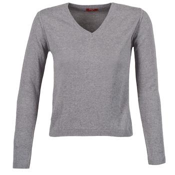 Textil Mulher camisolas BOTD ECORTA VEY Cinza