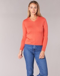Textil Mulher camisolas BOTD ECORTA VEY Laranja