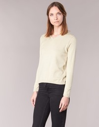 Textil Mulher camisolas BOTD ECORTA VEY Bege