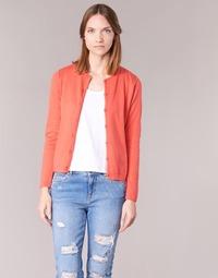 Textil Mulher Casacos de malha BOTD EVANITOA Coral