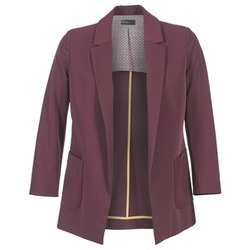 Textil Mulher Casacos/Blazers Benetton GULO Ameixa