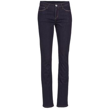 Textil Mulher Calças Jeans Yurban ESQUANE Azul / Escuro