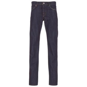 Textil Homem Calças Jeans Yurban EDABALO Azul