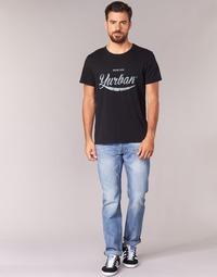 Textil Homem Calças Jeans Yurban IEDABALO Azul / Claro