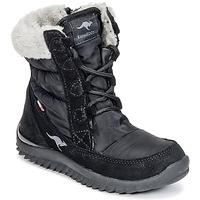 Sapatos Rapariga Botas de neve Kangaroos CUPY JUNIOR Preto