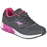 Sapatos Rapariga Sapatilhas Kangaroos KANGA X Cinza / Rosa
