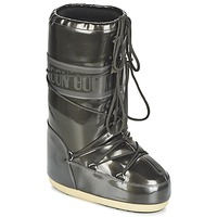 Sapatos Mulher Botas de neve Moon Boot MOON BOOT VYNIL MET Preto