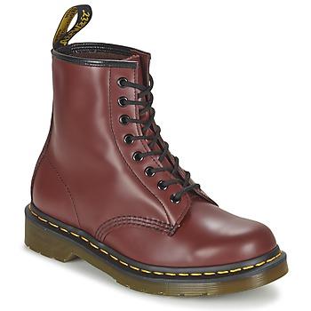 Sapatos Botas baixas Dr Martens 1460 Vermelho