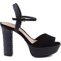 Sapatos Mulher Sandálias Schutz Sandálias 70'S Heels Tressê Preto