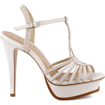 Sapatos Mulher Sandálias Schutz Sandálias Stripe Pearl Branco