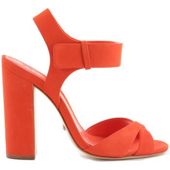 Sapatos Mulher Sandálias Schutz Sandálias Bloco Laranja