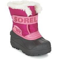 Sapatos Criança Botas de neve Sorel CHILDRENS SNOW COMMANDER Rosa