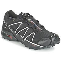 Sapatos Homem Sapatilhas de corrida Salomon SPEEDCROSS 4 GTX® Preto / Prateado