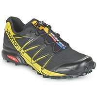 Sapatos Homem Sapatilhas de corrida Salomon SPEEDCROSS PRO Preto / Amarelo