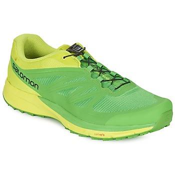 Sapatos Homem Sapatilhas de corrida Salomon SENSE PRO 2 Verde / Preto