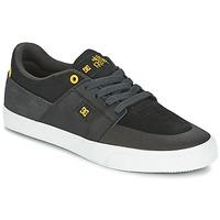 Sapatos Homem Sapatilhas DC Shoes WES KREMER Preto / Cinza / Amarelo