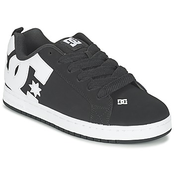 Sapatos Homem Sapatos estilo skate DC Shoes COURT GRAFFIK Preto