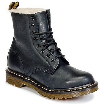 Sapatos Mulher Botas baixas Dr Martens SERENA Preto