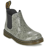 Sapatos Criança Botas baixas Dr Martens BANZAI ASP Cinza / Claro