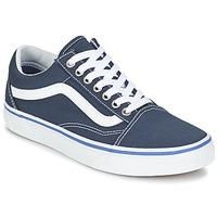 Sapatos Sapatilhas Vans OLD SKOOL Marinho / Branco