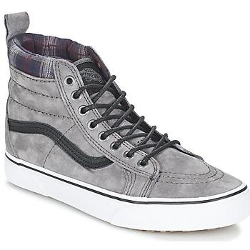 Sapatos Sapatilhas de cano-alto Vans SK8-HI MTE Cinza